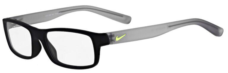 Nike 5090 Prescription Eyeglasses in Matte Black/Wolf Grey NI-5090-002