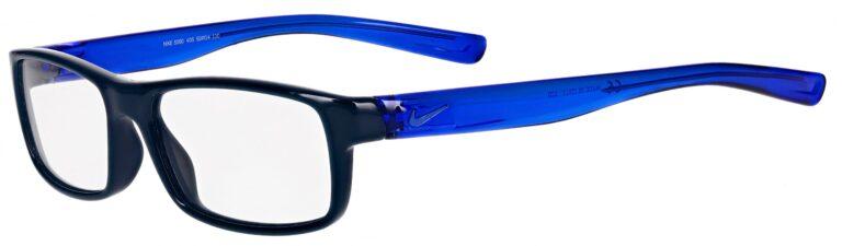 Nike 5090 Prescription Eyeglasses in Midnight Turquoise/Racer Blue NI-5090-406