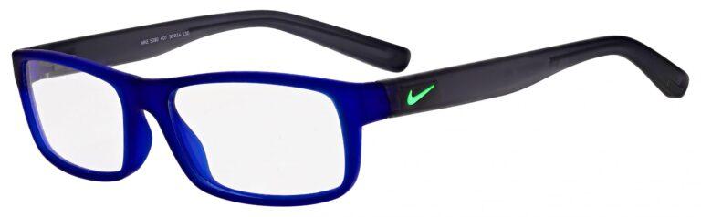 Nike 5090 Prescription Eyeglasses in Matte Deep Royal Blue/Grey NI-5090-407