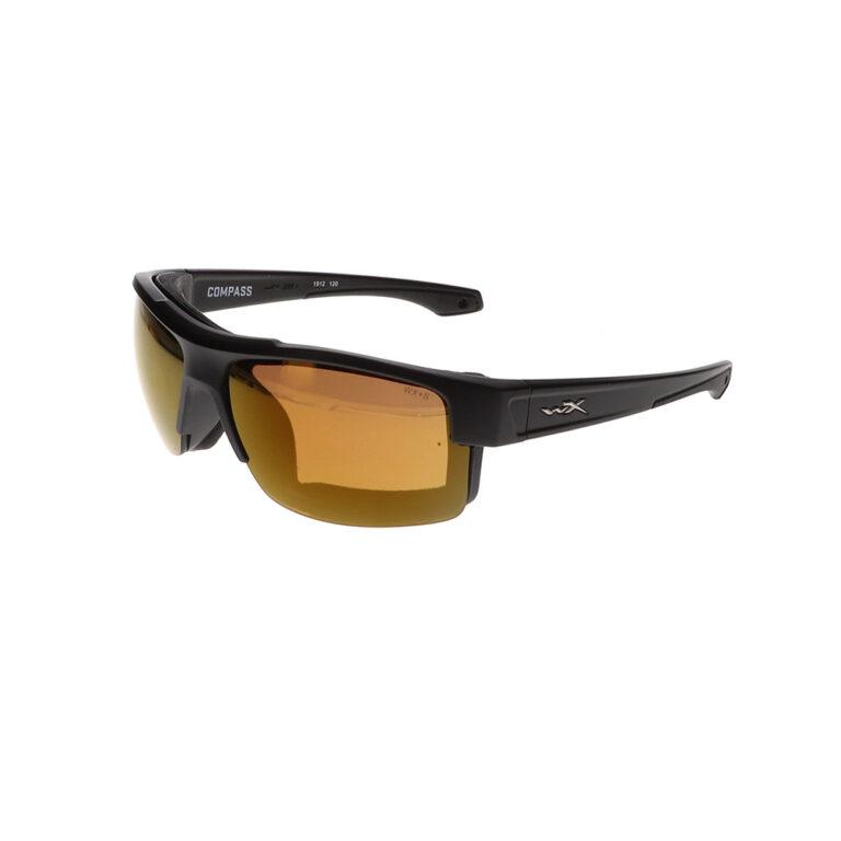 Wiley X Compass Sunglasses in Matte Black