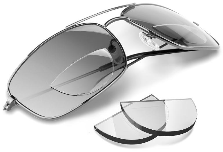 Stick-On Bifocal Lenses