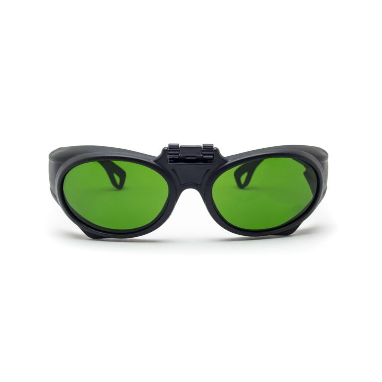 IR Protection Safety Glasses RX  BK GN RX
