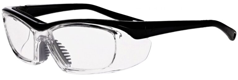 OnGuard Model OG-220S Prescription Safety Glasses in Black OG-220S-BK