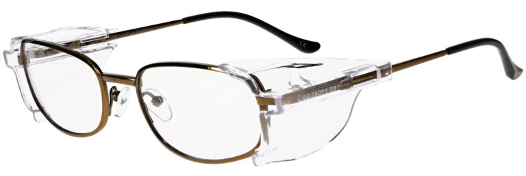OnGuard 110 Safety Glasses in Brown