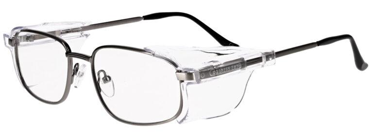 OnGuard 112 Prescription Safety Glasses, Metal Frame