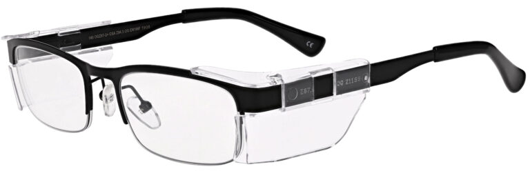 OnGuard 138 Safety Glasses in Black