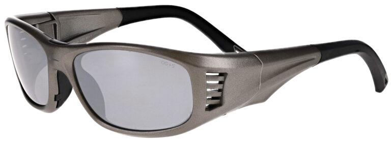 OnGuard 240S Safety Glasses in Gunmetal