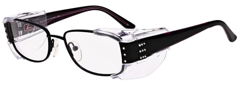 OnGuard 611 Safety Glasses in Black