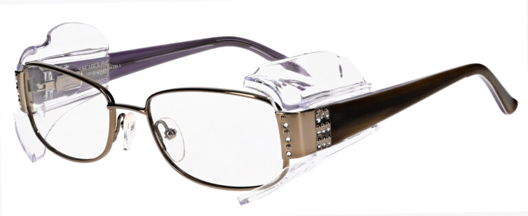 OnGuard 611 Safety Glasses in Gold