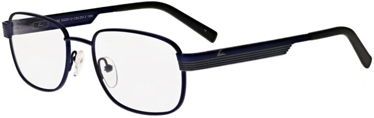 OnGuard 616 Safety Glasses in Matte Navy