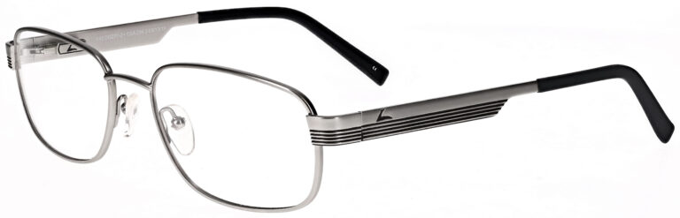 OnGuard 616 Safety Glasses in Matte Silver