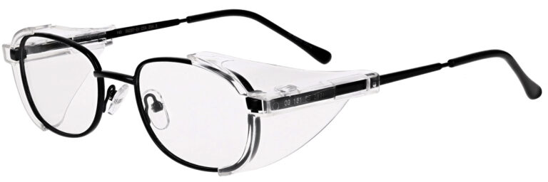 OnGuard 086 Safety Glasses in Black
