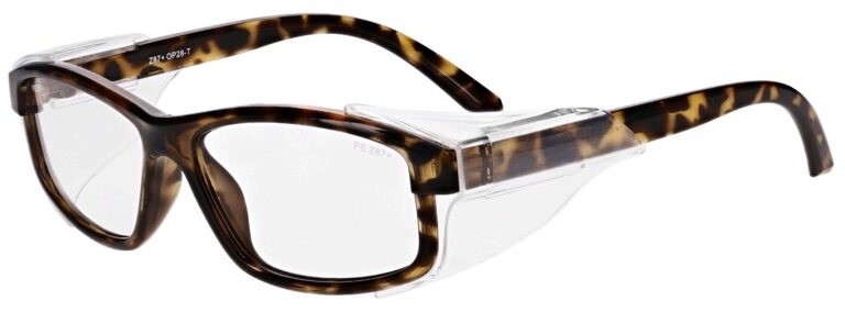Model RX-OP28 Safety Glasses in Tortoise RX-OP-28-T