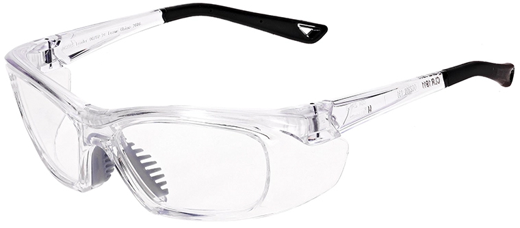 Onguard 220S Prescription Safety Glasses, Angled to the Side Left