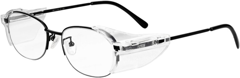 Model RX-180 Black Safety Glasses RX-180 Available in 2 sizes