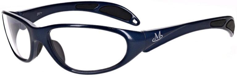 Prescription Safety Glasses Model RX-201 in Blue