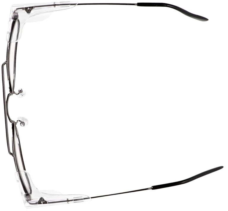 Model RX-202 Metal Safety Glasses in Gunmtetal. Available in 2 sizes RX-202-GM