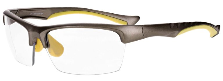 Prescription Free Form Safety Glasses RX-5008-BN in Brown