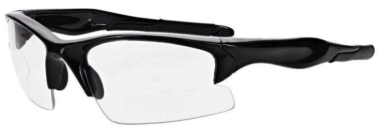 Prescription Free Form Safety Glasses RX-691-BK in Black