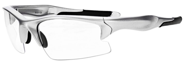 Prescription Free Form Safety Glasses RX-691-S in Silver