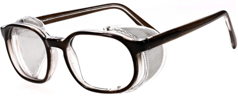 Model RX-75 Safety Glasses in Translucent Brown RX-75-BN