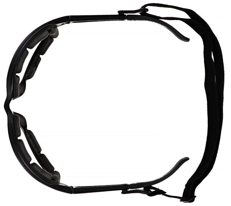 Prescription Wraparound Safety Glasses Model RX-901-BK in Black
