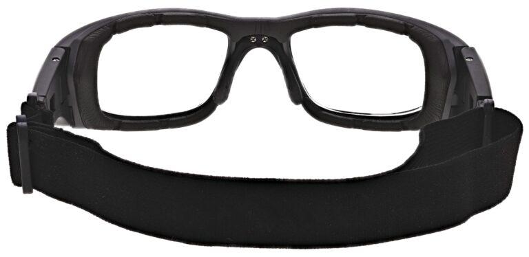 Prescription Safety Goggle Model RX-JY7-GOGGLE in Black