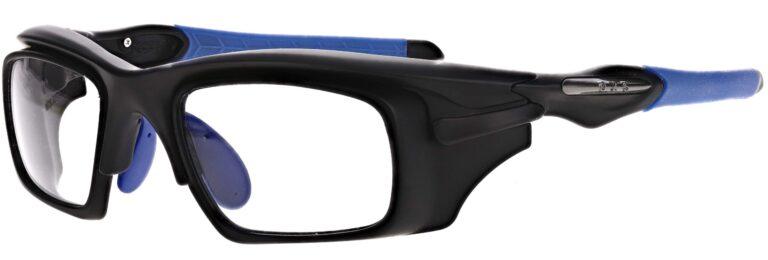 Model RX-WAR101 Safety Glasses in Black/Blue RX-WAR101-BKBL