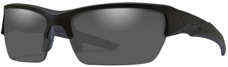 Wiley X Valor Black Ops Matte Black with Smoke Gray Lens, WX-CHVAL01
