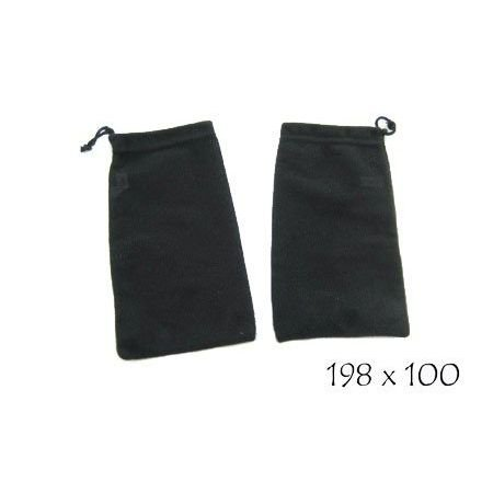 Microfiber Cleaning Pouch with Pull String, #ACC-760D