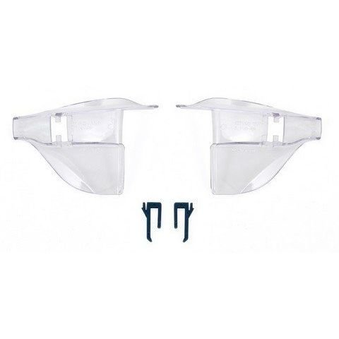 PSS45 Replacement Clear Side Shields for Hudson Optical