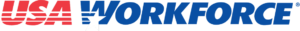 USA Workforce Art Craft Brand Logo