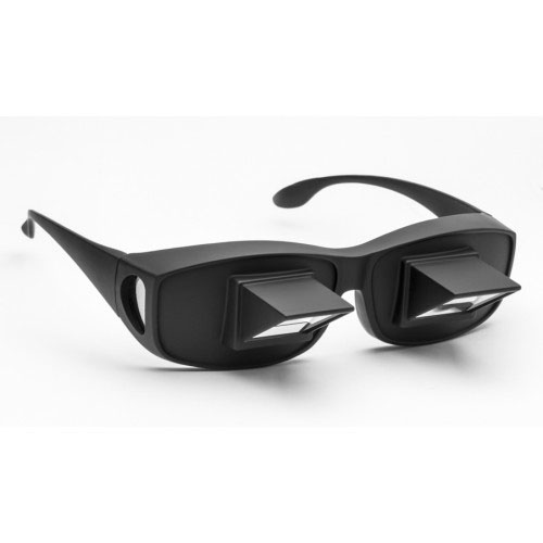 Fitover Prism Glasses - Bed Spectacles for Reading and TV Viewing