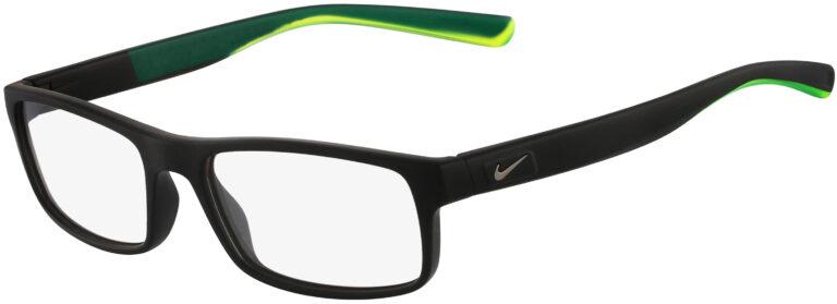 Nike 7090 Glasses - Matte Black/Matte Crystal Volt