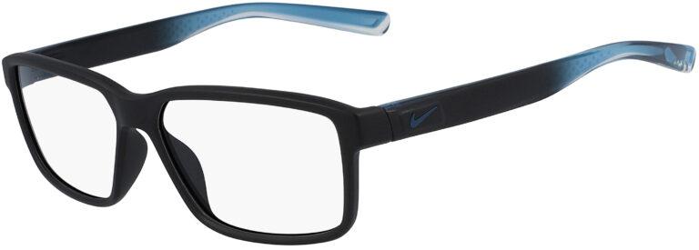 Nike 7092 014 Matte Black Fade Frame Matte Black Fade Lens Angled Side Left