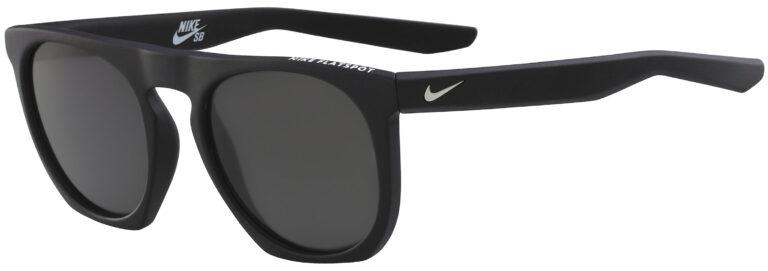Nike Flatspot in Matte Black Frame with Polarized Gray Lens, EV1039-001