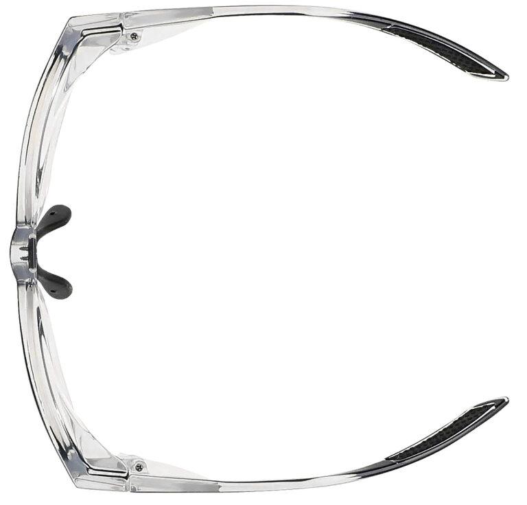 Model RX-15011 Safety Glasses in Black Crystal RX-15011-BKC