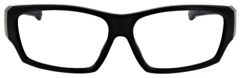 Prescription Wraparound Safety Glasses Model RX-TP198-BK in Black