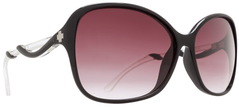 Spy Fiona Prescription Sunglasses in Black/Clear SPY-FIONA-BK