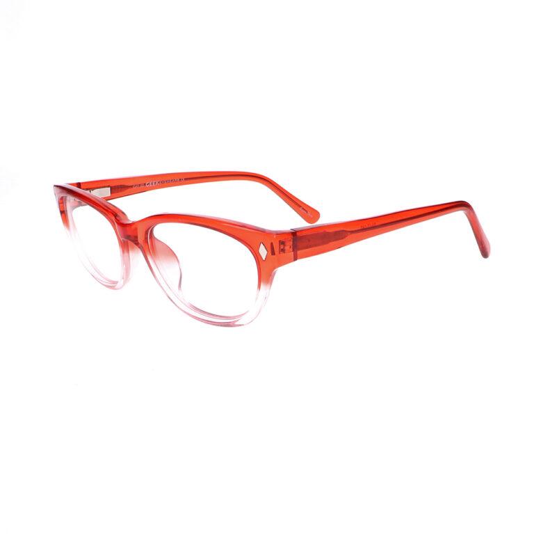 Geek Cat02 Eyeglasses in Red LBI-GK-CAT02-R
