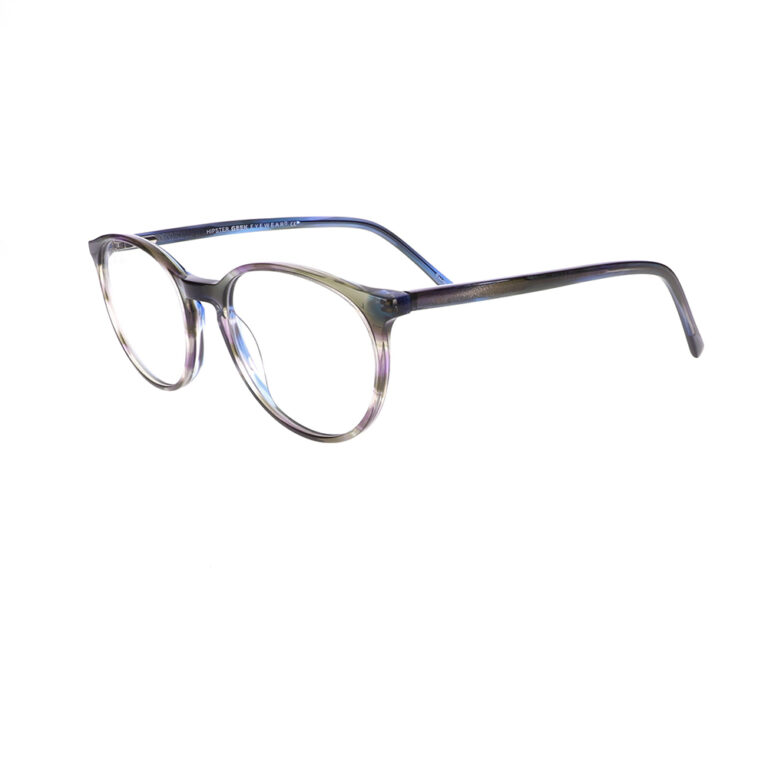 Geek Hipster Eyeglasses in Grey LBI-GK-HIPSTER-GY