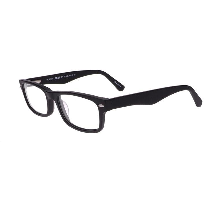 Geek Intern Eyeglasses in Black Matte LBI-GK-INTERN-MBK