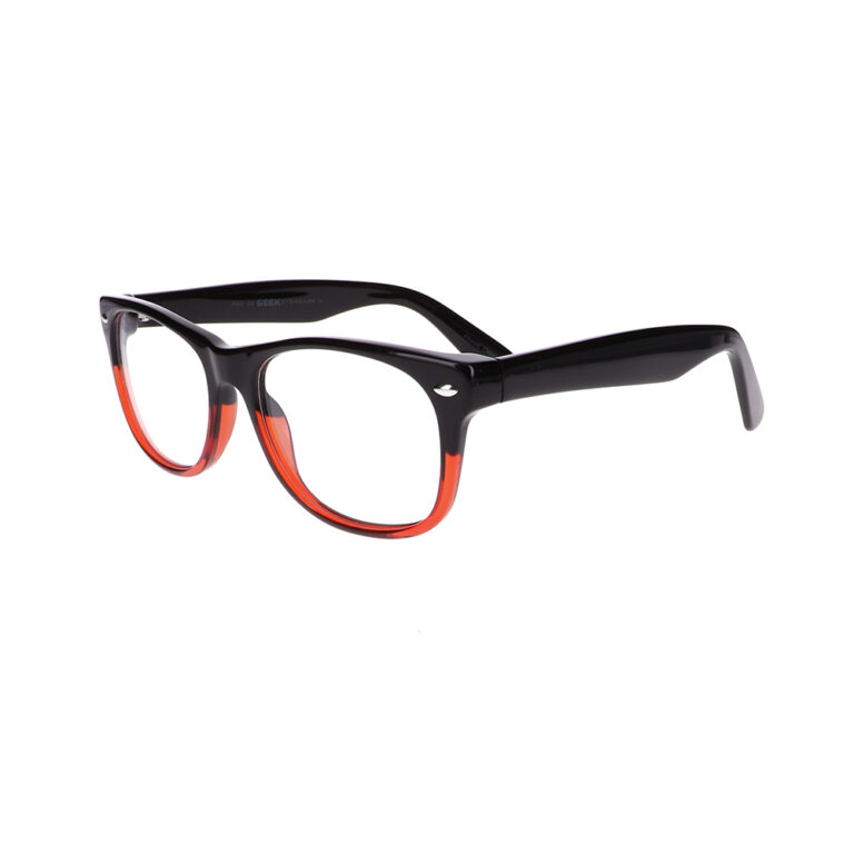 Geek Rad09 Eyeglasses in Black/Red LBI-GK-RAD09-BKR