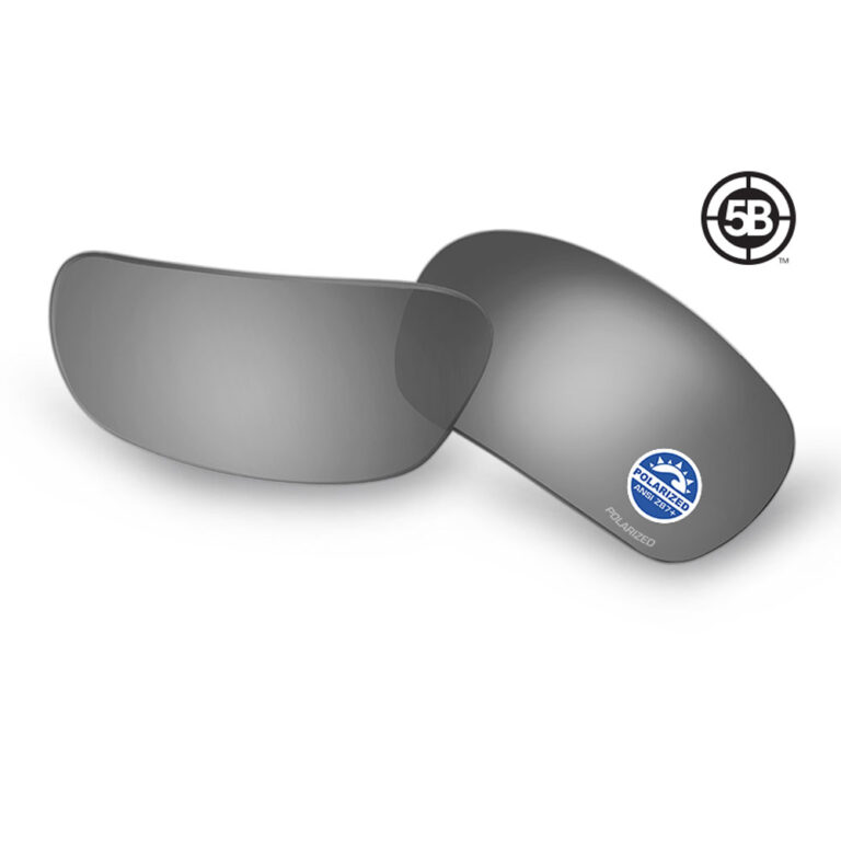 5B Polarized Mirrored Gray Replacement Lenses
