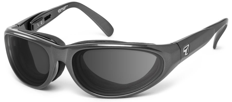 7 Eye Diablo Charcoal Gray Lenses Prescription Sunglasses RX Safety