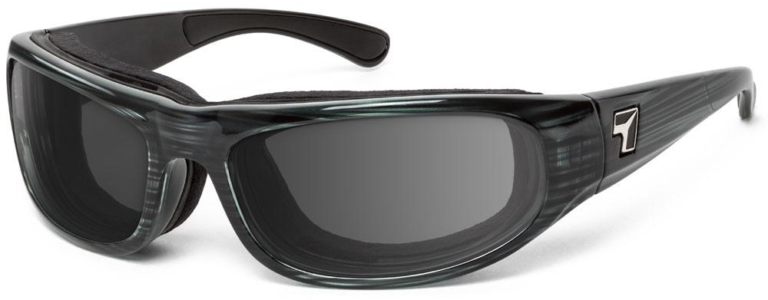 7 Eye Whirlwind Gray Tortoise Gray Lenses Prescription Sunglasses RX Safety