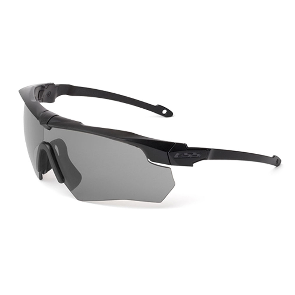 ESS Eyewear 740-0424 Replacement Lens 2.4mm Smoke Gray For Crossbow