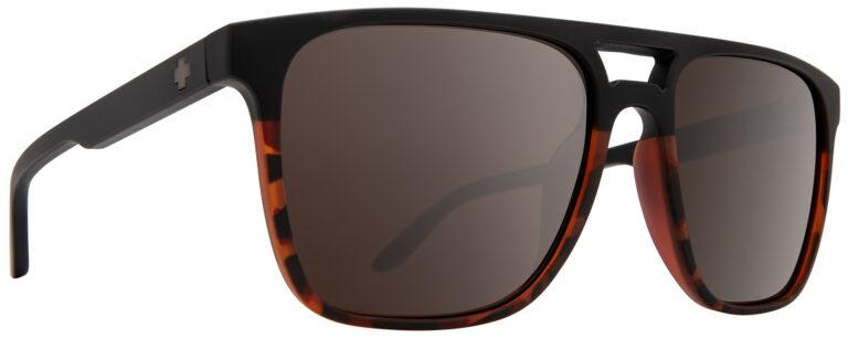Spy Czar Prescription Sunglasses in Matte Black/Tort Fade SPY-CZAR-MBKT