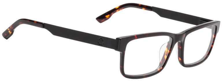 Spy Hale Eyeglasses in Matte Black/Dark Tortoise