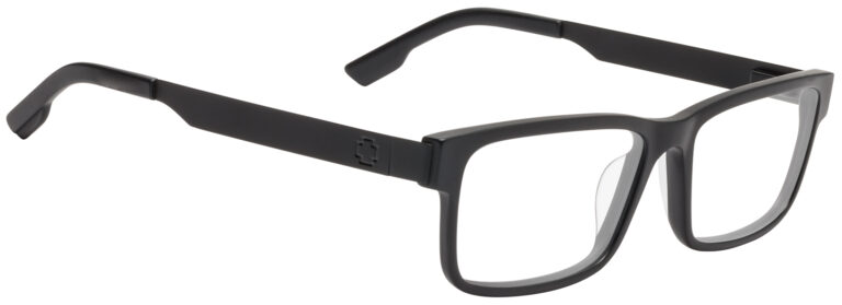 Spy Hale Eyeglasses in Matte Black